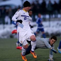 Na prijateljski tekmi v Lendavi slavili nogometaši Maribora