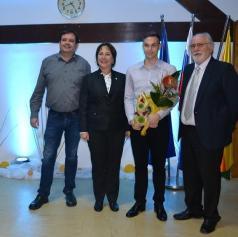 Občina Turnišče pripravila sprejem za njihovega mednarodnega šahovskega mojstra Borisa Markojo