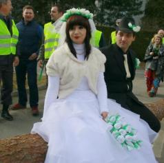 FOTO: Borovo gostüvanje v Križevcih - Borovnjakov Andraš je vzel Ščüfkovo Kato