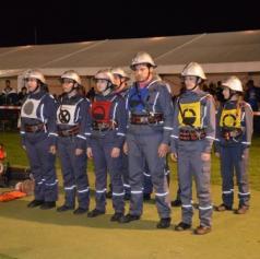 FOTO: V Beznovcih so se ob 3. nočnem gasilskem tekmovanju zabavali z Blue Planeti