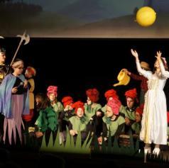 FOTO: Ljutomerski učenci navdušili v predstavi Rumeno čudo