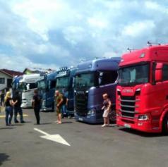 FOTO: Truck show v Črenšovce tudi letos privabil številne ljubitelje jeklenih bizonov
