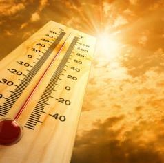 Opozorilo pred veliko toplotno obremenitvijo