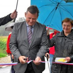 FOTO: Na lokalni cesti med Markišavci in Polano namenu predali nova mostova