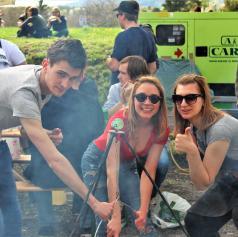FOTO: Klub Študentov Lendava privabil številne obiskovalce na 15. Študentski Bogračfest v Mariboru