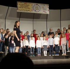 FOTO: V Ljutomeru so se predstavili otroški in mladinski pevski zbori s prleških občin