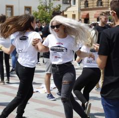 FOTO: Četvorko zaplesali tudi v Ljutomeru