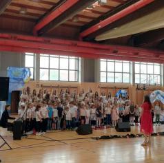 Koncert pevskih zborov murskosoboške tretje osnovne šole navdušil občinstvo