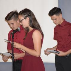 FOTO: Prosenjakovski devetošolci so se poslovili od osnovne šole