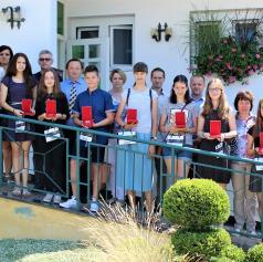 FOTO: Občina Puconci pripravila sprejem za najboljše učenke in učence