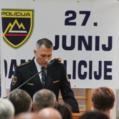 FOTO: V Murski Soboti ob dnevu slovenske policije podelili priznanja