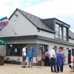 FOTO: V Polani pri Murski Soboti odprli sodoben večnamenski objekt